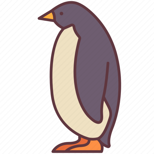 Animal, arctic, bird, penguin, poultry, zoo icon - Download on Iconfinder
