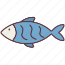 animal, aquatic, domestic, fish, pet, sea, water icon