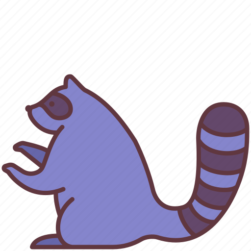 Animal, domestic, pet, raccoon, tanuki, zoo icon - Download on Iconfinder
