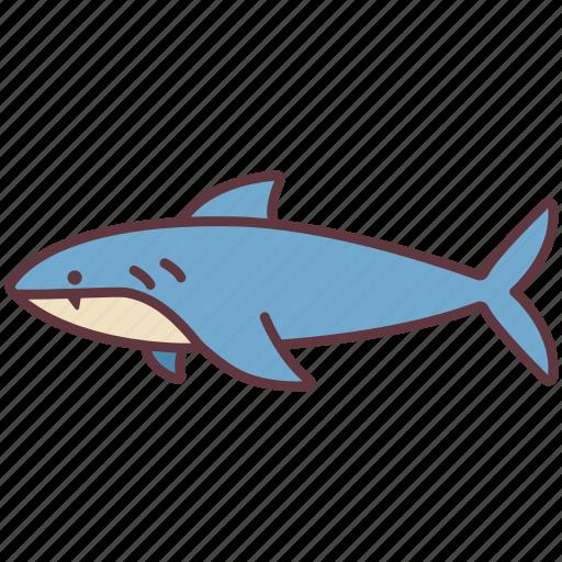 Animal, aquatic, fish, ocean, sea, shark, water icon - Download on Iconfinder
