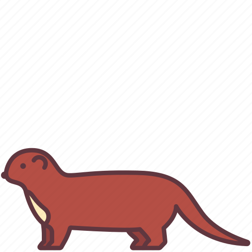 animal, creature, ferret, mammal, weasel, wild icon