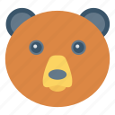 animal, bear, forest, mammal, zoo