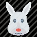 animal, forest, pet, rabit, zoo icon