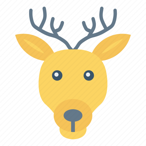 Animal, christmas, forest, reindeer icon - Download on Iconfinder