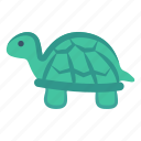 turtle, water, river, animal, sea