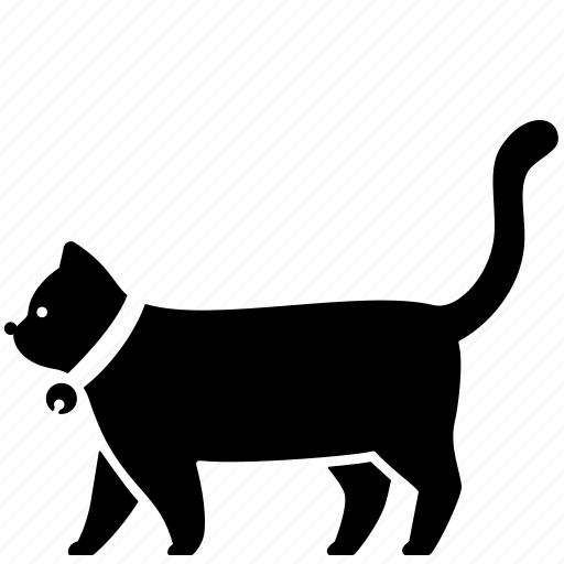 Animal, cat, domestic, fur, kitten, pet, tail icon - Download on Iconfinder