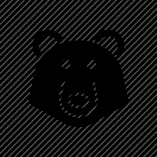 bear, grizzly, oso, ours, predator, urso icon