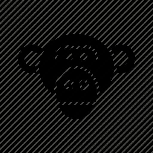 ape, chimp, chimpanzee, macaco, monkey, mono, singe icon