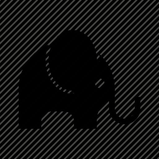 animal, elefante, elephant, giant, jungkle, throb icon