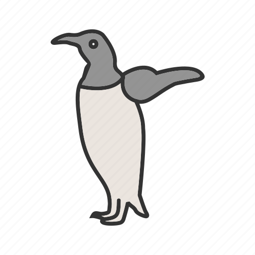 Animal, bird, cute, penguin, penguins, snow, young icon - Download on Iconfinder