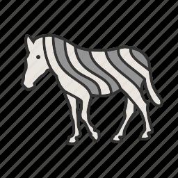 africa, animals, running, wild, zebra, zebras icon