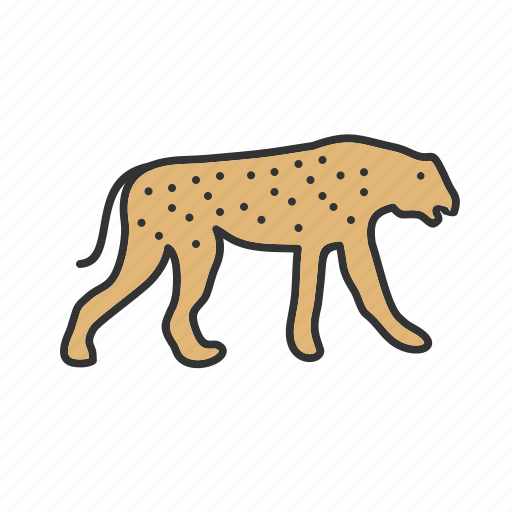 africa, animal, cheetah, kenya, running, safari, wildlife icon