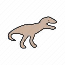 animal, dinosaur, dinosaurs, fear, fossil, jurassic, predator icon