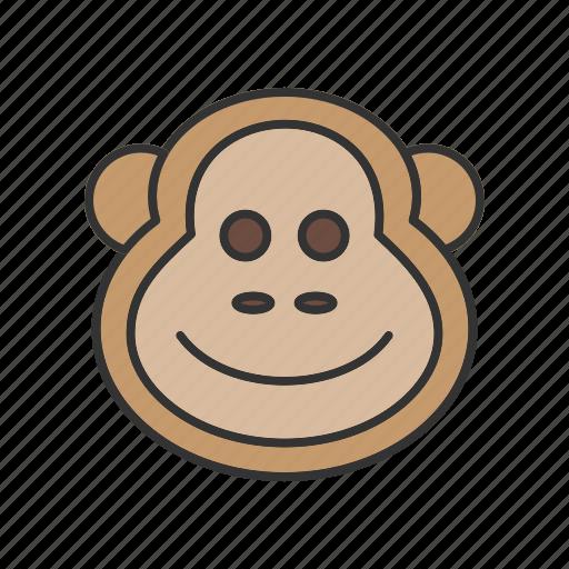 animal, animals, chimpanzee, monkey, safari, wild, wildlife icon