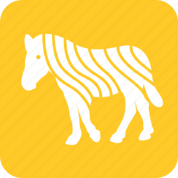 africa, animals, running, wild, zebra, zebras icon