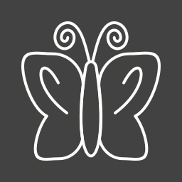 butterflies, butterfly, colorful, flying, insect, summer, wings icon