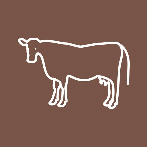animal, cow, dairy, farm, farming, milk, milking icon