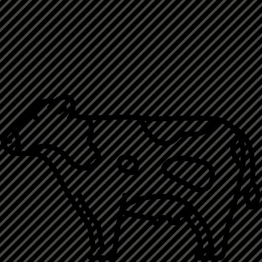 Animal, cow, domestic, farm, mammal, milk, pet icon - Download on Iconfinder