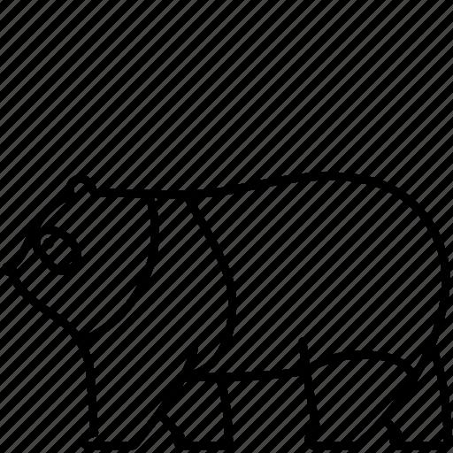 Animal, bear, fluffy, mammal, panda, wild, zoo icon - Download on Iconfinder
