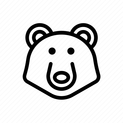 bear, carnivore, mammal, oso, ours, predator, urso icon