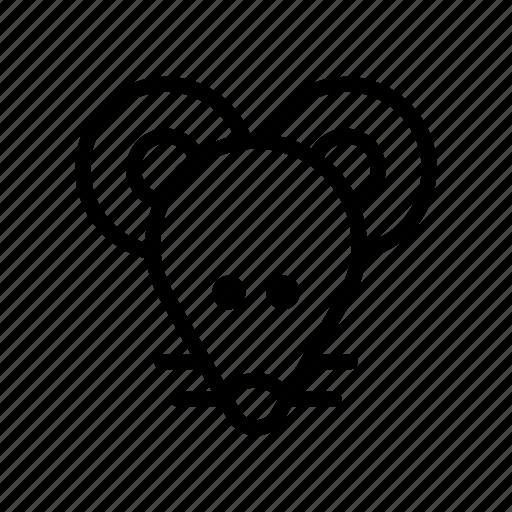 mice, mouse, rat, rato, raton, rodent, souris icon