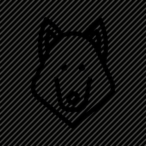 carnivore, dog, hound, lobo, loup, predaot, wolf icon