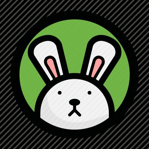 animal, bunny, face, rabbit icon