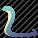 animal, cobra, creature, domestic, pet, snake, zoo icon