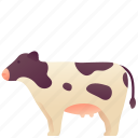 animal, cow, domestic, farm, mammal, milk, pet icon