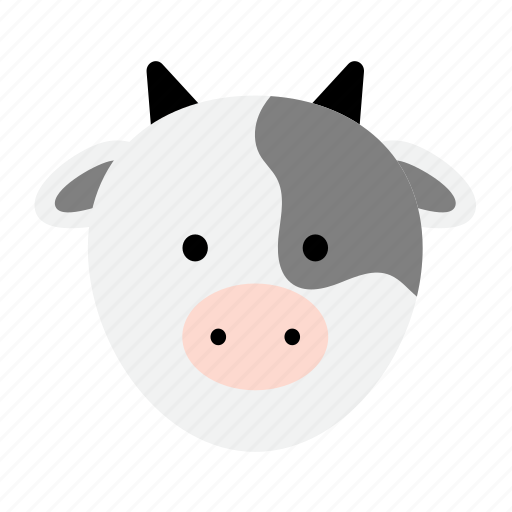 agriculture, animal, bovine, cow, farm, meat icon