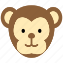 animal, ape, chimpanzee, forest, monkey, zoo icon