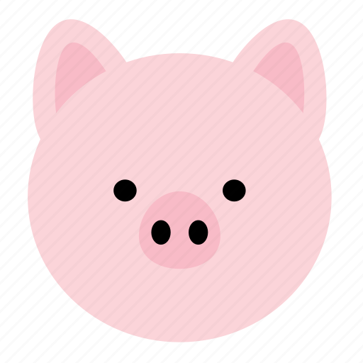 animal, farm, ham, meat, pig, swine icon