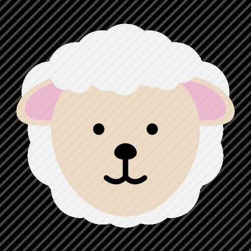 animal, farm, lamb, sheep, wool, zoo icon