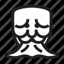 anonymous, emoticon, gag, mask, sick icon