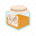 bank, cartoon, food, gold, honey, honeycomb, sweet icon