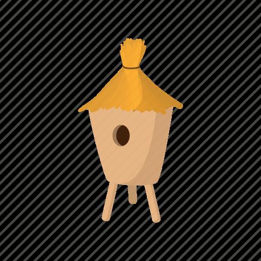 bee, beehive, cartoon, hive, honey, straw, sweet icon