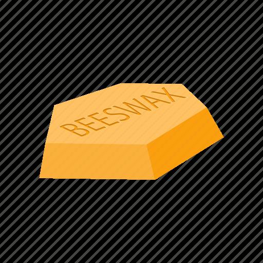 beeswax, cartoon, gold, honeycomb, ingredient, nature, wax icon