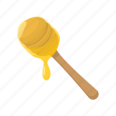 beehive, cartoon, food, healthy, honey, nature, wood icon
