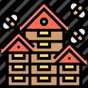 apiary, beekeeping, apiculture, farm, beehive