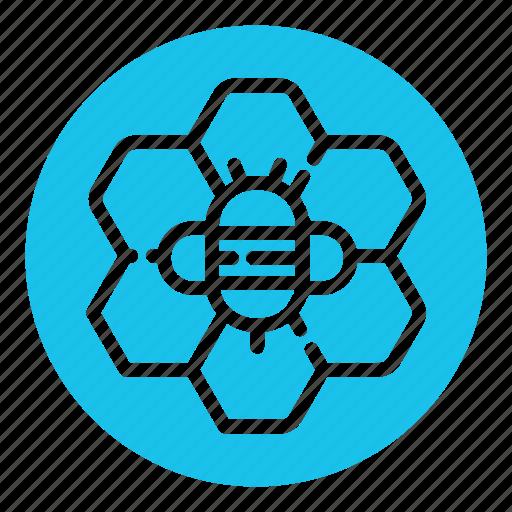 apiary, bee, beehive, hive, honey, honeycomb, wax icon