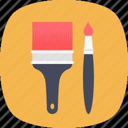 artist, creativity, drawing, paint brush, painting icon