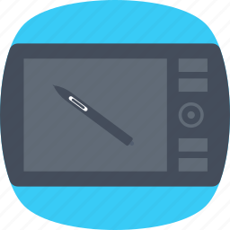 artboard, digital art, digitizer, graphic designing, graphic tablet icon