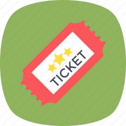 entry pass, entry ticket, event pass, movie ticket, ticket icon