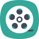 cinema, film, movie reel, photography, reel icon