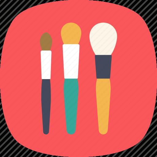 accessories, applicator, blush brush, cosmetics, makeup brushes icon