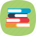 books, education, encyclopedia, library, study icon