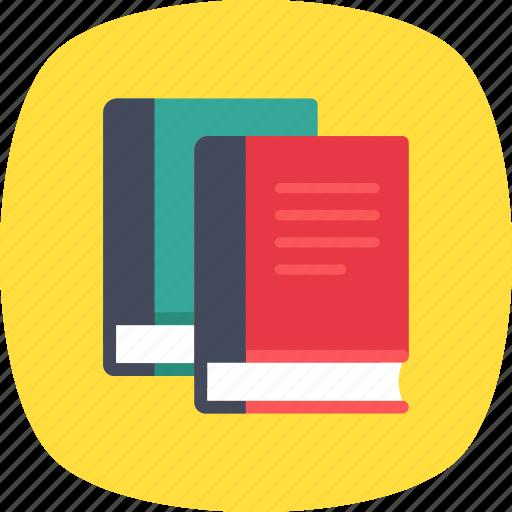 books, education, encyclopedia, library, study icon