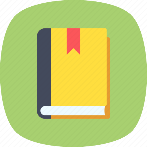 book, education, literature, notebook, study icon