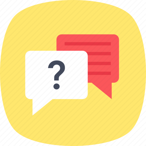 chat support, chatting, faq, live chat, question answer icon