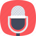 singing, mic, vintage microphone, microphone, music icon